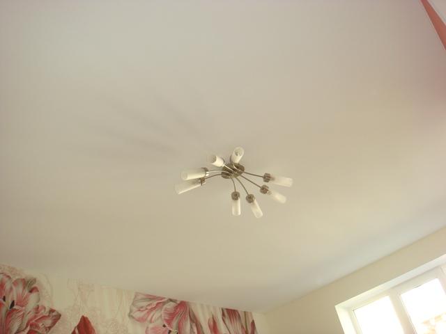 фото натяжные потолки из ткани